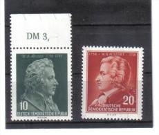 DDR184  DDR 1956 MICHL 510/11  Postfrisch   ZÄHNUNG Siehe ABBILDUNG - DDR