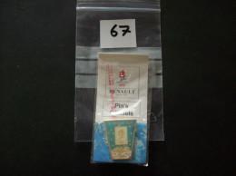 PIN´S -  JO D´ Hiver Albertville 92 - 19 Fevrier 1992 - Dans Sont Blistter D´origine  Pub Renault- Voir Photo ( 67 ) - Olympische Spelen