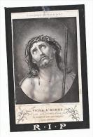 Doodsprentje Henricus LUYTEN Meerhout 1820 Priester Mechelen St.-Josse-ten-Noode Lembeek 1879 - Andachtsbilder