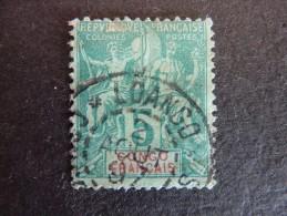 CONGO FRANCAIS, Année 1892, YT N° 15 Oblitéré - Congo Français (1891-1960)