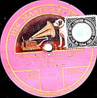 78 Trs - 25 Cm - état B -   ENRICO CARUSO - 1 Face - L'Alba Separa Dalla Luce L'Ombra - 78 Rpm - Gramophone Records