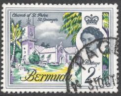 Bermuda. 1962-68 QEII. 2d Used. Upright Block CA W/M SG 164 - Bermuda