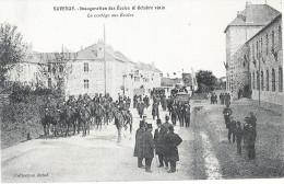 44  SAVENAY  C  ETAIT  HIE   R>>>  CPM     INAUGURATION DES ECOLES (  06   Octobre 1912 ) - Savenay