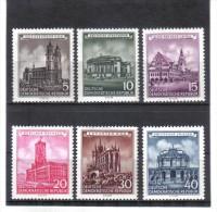 DDR179  DDR 1955  MICHL 491/96  Postfrisch   ZÄHNUNG Siehe ABBILDUNG - DDR