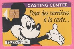 France EuroDisney  France Telekom 50 Unites  Miky Mouse 1991 - France