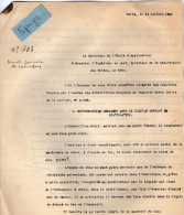 VP3558 - PARIS X LE MANS -  Lot De Documents - Tabac -  Fabrication Du Caporal Doux - Documents