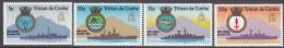 TRISTAN DA CUNHA, 1977 RN SHIPS 4 MNH - Tristan Da Cunha