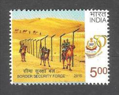 INDIA, 2015, Border Security Force BSF, Military, Militaria, Camel,   MNH, (**) - India