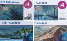 GREECE 2015 New 2 + 2 Cards BONUS  - X2397,2401 Cards + S125 & S126 , Unused Tirage 2.500 & 2.200 Ship.Free - Greece