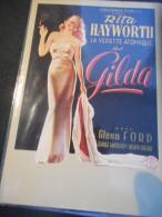 "CP - Affiche Sur Carte ""GILDA - Rita HAYWORTH"" - Affiches Sur Carte"