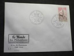2 Oblitérations Commémoratives Chatenay Malabry( Essonne ) 1974-76 2 Enveloppes - Marcophilie (Lettres)