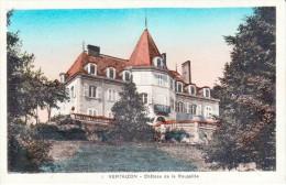Nos Châteaux En Auvergne - VERTAIZON - Canton De Billom - Château De La Roussille - Très Beau Plan Couleurs - Autres Communes
