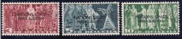 Schweiz Aemter ONU D VII 1950 Zu#18-20 Gestempelt - Service