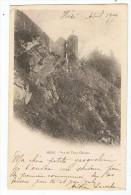 Hédé    Vieux Chateau    Dos Simple  1904 - Andere Gemeenten