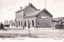 SILLY - La Gare, Côté Extérieur - Silly