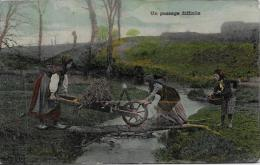 CPA Agriculture Ferme Paysans Culture La Vie Aux Champs Circulé Brouette - Cultures