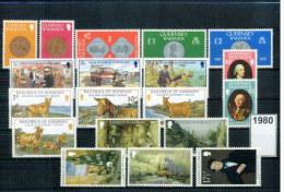 Guernsey  Jahrgang / Year 1980  Postfrisch / MNH - Guernesey