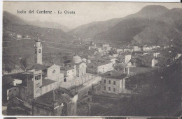 Isola Del Cantone (Genova) La Chiesa 1918 - Altre Città