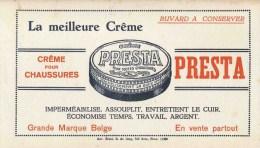 PRESTA Crême Pour Chaussures / Grande Marque Belge Bruxelles ? - Produits Ménagers