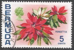 Bermuda. 1970 Flowers, 5c Used. SG 253 - Bermuda
