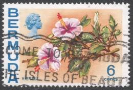 Bermuda. 1970 Flowers, 6c Used. SG 254 - Bermuda