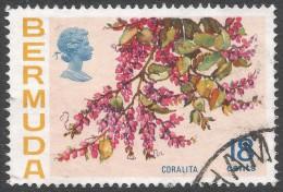 Bermuda. 1970 Flowers, 18c Used. SG 259 - Bermuda