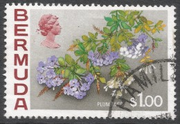 Bermuda. 1970 Flowers, $1 Used. SG 263a - Bermuda