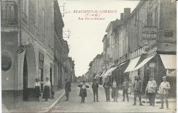 82 / Tarn Et Garonne - BEAUMONT De LOMAGNE - Rue Pierre Fermat - Beaumont De Lomagne