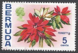 Bermuda. 1970 Flowers, 5c MH. SG 253 - Bermuda