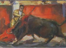 ES.- Corrida De Toros. La Mise A Mort. La Estocada. Editions D'Art Yvon. 2 Scans - Corrida