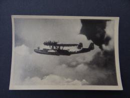 Dt.Reich Propaganda Foto WW2 DORNIER DO 24 Seeflugzeug / Photo Hydravion Allemand Hansmann Kassel - Krieg, Militär