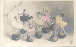 DANSE DANZA BALLET CASCANUECES??? MUSTERSCHUTZ CPA 254-8 VOYAGEE 1906 PIRAYU A ASUNCION PARAGUAY RARISIME - Danse