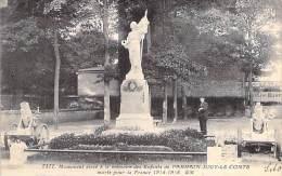 95 - PARMAIN - JOUY LE COMTE : Monument à La Mémoire Des Enfants De La Commune Morts En 14-18 - CPA - Val D'Oise - Parmain
