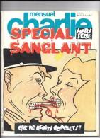 CHARLIE MENSUEL SPECIAL SANGLANT - Magazines Et Périodiques