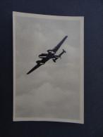 Dt.Reich Propaganda Foto WW2 MESSERSCHMITT ME 110 Flugzeug / Photo Avion Allemand Hansmann 3 Svastika Croix Gammée - Guerra, Militari