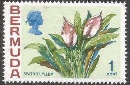 Bermuda. 1970 Flowers, 1c MH. SG 249 - Bermuda