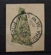 Polen 1915 Lokal Post Warschau Mi.Nr 10 Gestempelt       (I119) - Gebraucht