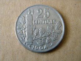 FRANCE - 25 CENTIMES PATEY 1904. BON ETAT. - Francia