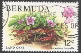 Bermuda. 1978 Wildlife, 12c Used. SG 393 - Bermuda