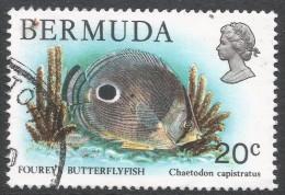 Bermuda. 1978 Wildlife, 20c Used. SG 395 - Bermuda