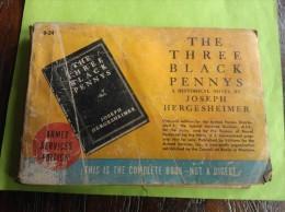 'The Three Black Pennys' Joseph Hergesheimer, Historical Novel, 1930 - Livres, BD, Revues