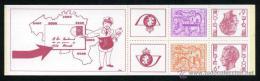 BELGICA / BELGIUM AÑO 1978 YVERT CARNET Nº 1895 (CT1895) ** MNH - BALDUINO I - LEON HERALDICO - Carnets 1953-....