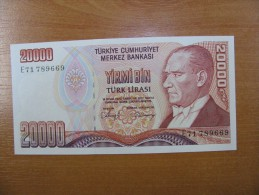 AC - TURKEY - 7th EMISSION 20 000 TL E  UNCIRCULATED - Turquie