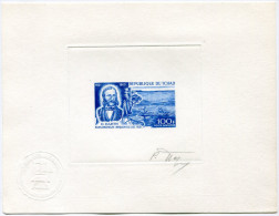 TCHAD EPREUVE D'ARTISTE DU PA 53 EXPLORATEUR H. BARTH (1821-1865) REGION DU LAC SIGNEE PAR LE GRAVEUR - Tchad (1960-...)