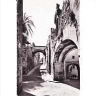 CCRTP4144-LFTD8693.Tarjeta Postal DE CACERES.Edificios,calles Y ARCO DE LA ESTRELLA En CACERES - Cáceres