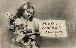 Postcard / CP / Postkaart / Fille / Girl / Phototypie A. Bergeret & Co / 1905 - Bergeret