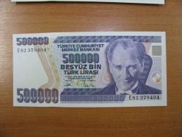 AC - TURKEY- 7th EMISSION 500 000 TL E  UNCIRCULATED - Turquie