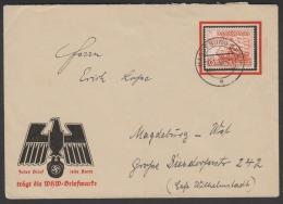 WHW SONDERKUVERT ALS ORTSBRIEF WHW 1937 - Deutschland