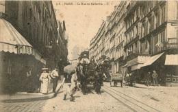 PARIS LA RUE DE BELLEVILLE ATTELAGE - Arrondissement: 20