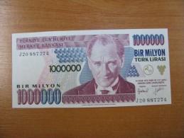 AC - TURKEY - 7th EMISSION 1 000 000 TL J UNCIRCULATED - Turquie